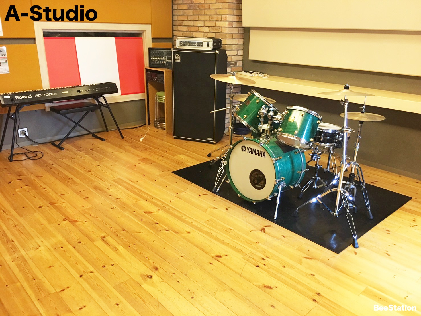 Aスタジオの風景2