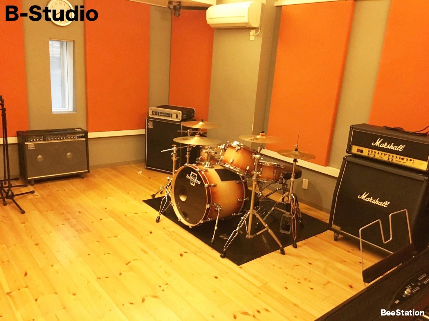 Bスタジオの風景1